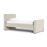 Monte Dorma Twin Bed with Walnut Base