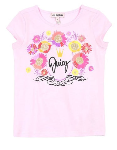 Juicy Couture Pink Lady Juicy T-Shirt - JCTTG0482
