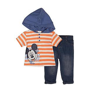 Disney Orange T-shirt & Jeans