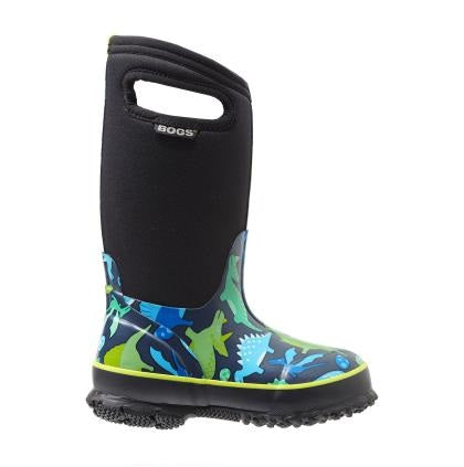 Bogs Classic Winter Boot Dinosaur Navy - 71563 492