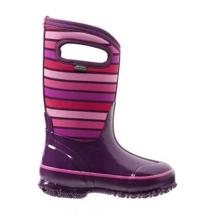 Bogs Classic Winter Boot Stripe Purple - 71849 540