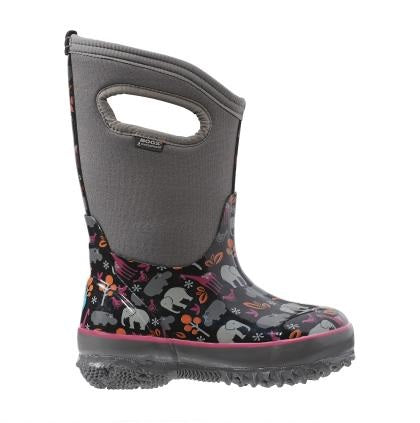 Bogs Classic Winter Boot Animals Black Multi - 71850 009