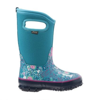 Bogs Classic Forest Turquoise Multi - 71851 463