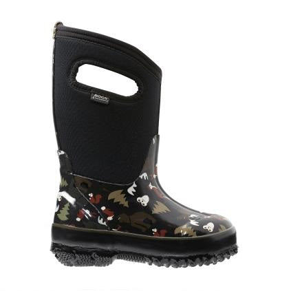 Bogs Classic Winter Boot Woodland Black - 71853 001