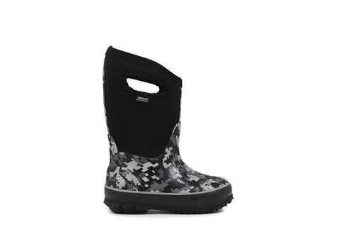 Bogs Classic Winter Boot Digital Camo Black - 71856 009