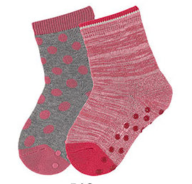 Sterntaler Pack of 2 pairs socks with antislip