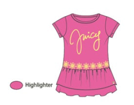 Juicy Couture T-Shirt - JCTXG0405