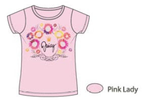 Juicy Couture Pink Lady Juicy T-Shirt - JCTXG0481