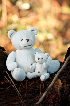 Beba Bean Animal Bear Large Ivory