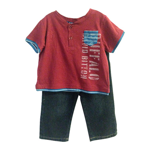 Buffalo David Bitton Kids - Infant Boy Set King 8197