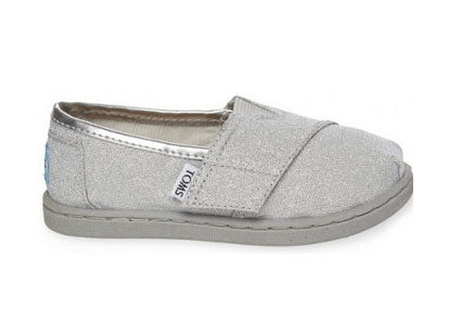 Toms Silver Glimmer Tiny Toms Classics