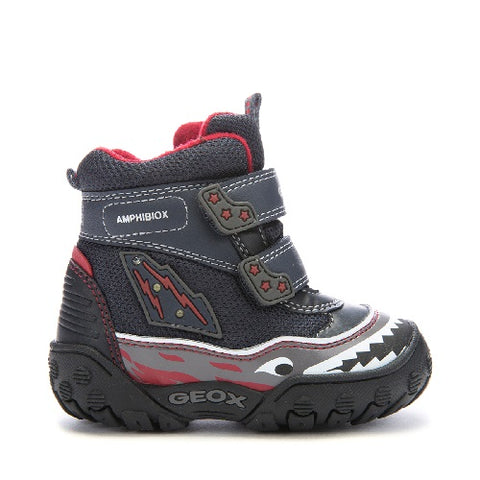Geox Gulp - Dark Navy/Red