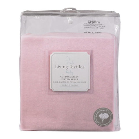 Living Textiles - Jersey Fitted Sheet