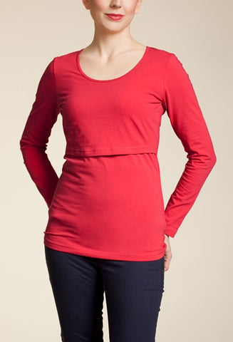 Boob Nursing Top Long Sleeve
