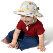Puffin Gear Protective UV Cotton Prints Sunbeam Hat