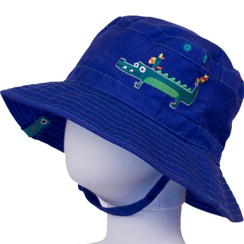 Calikids S15 Boys Reversible Gator Hat - S1530