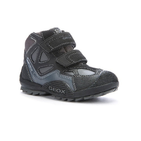 Geox Amphibiox - Savage (Black/Dark Grey)