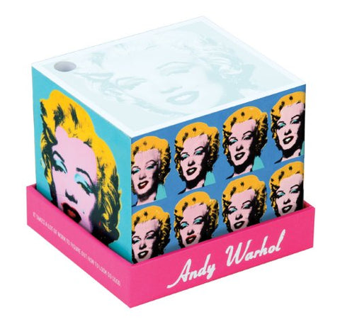 Andy Warhol Marilyn Memo Block