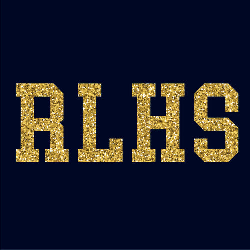 RLHS Glitter T-Shirt in Navy