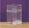 "RECTANGLE BOX 4.5""H x 2.5"" , 1 DOZ/PACK"
