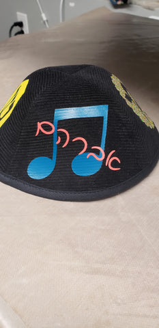 Musical Yarmulke Design
