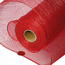"Red Deco Mesh 21"" X 10Yd"
