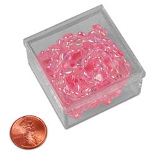 "Square Plastic Box (12/Package) 1-3/4"" X 1-3/4"""