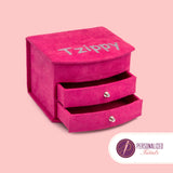 Jewelry Box Hot pink