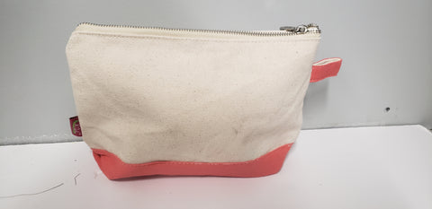 Cosmetic Bag Canvas