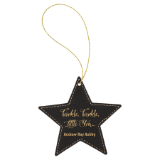 Leather Star Medallion