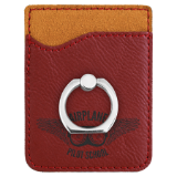 Phone Wallet with Silver Ring