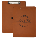 Leather Engraved Clipboard