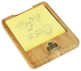 Bamboo Sticky Note Holder