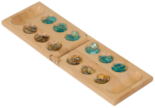 Wood Mancala Game Gift Set
