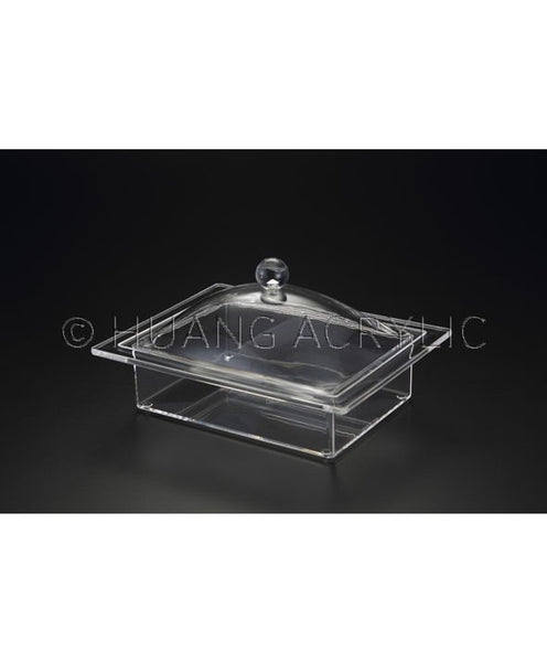 RECTANGLE TRAY W/ COVER