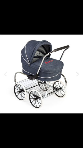 Denim Valco doll stroller