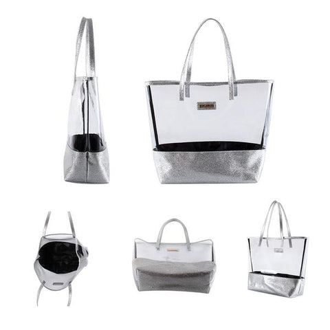 Glitter Tote & Make up Bags