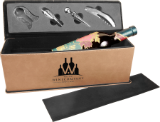 Leatherette Single Wine Box with Tools