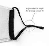 Adjustable Nose Wire Mask For Adults and Kids
