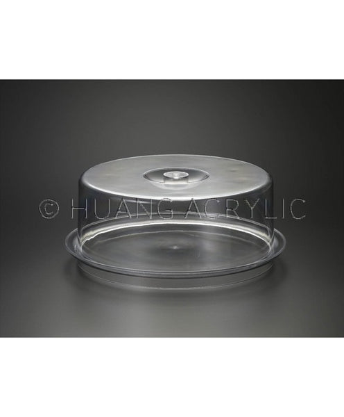 ROUND TRAY W/ COVER (SET)