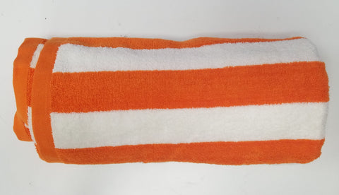 Towel Terry striped Beach