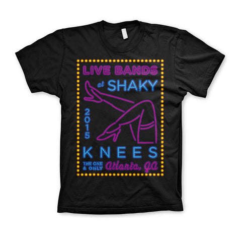 2015 Shaky Knees Legs Tee