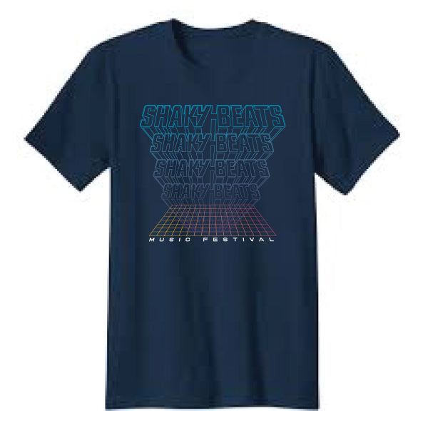 2018 Shaky Beats Grid Lineup Tee - Only Small Left!