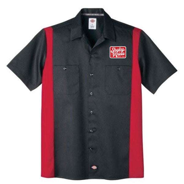 Shaky Knees Patch Work Shirt