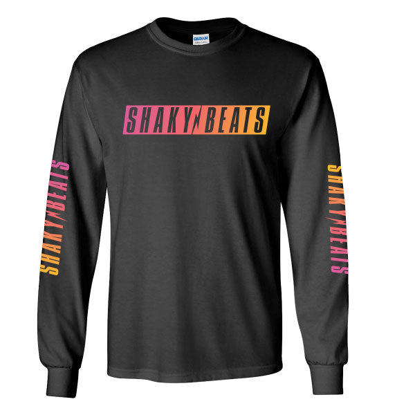 Shaky Beats Gradient Long Sleeve Tee