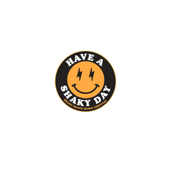 Shaky Beats Shaky Day Enamel Pin
