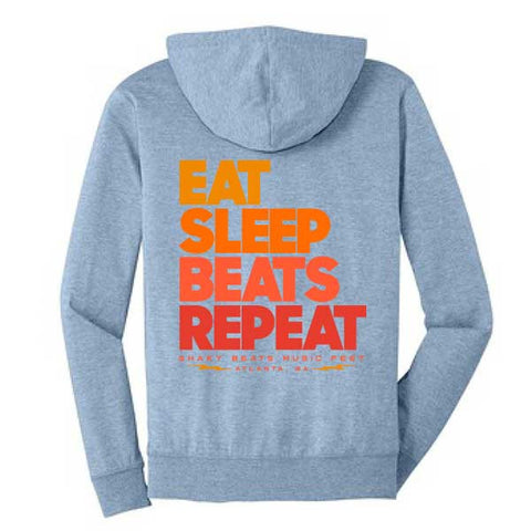 Shaky Beats Eat, Sleep, Beats Hoodie