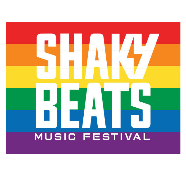 Shaky Beats Rainbow Flag