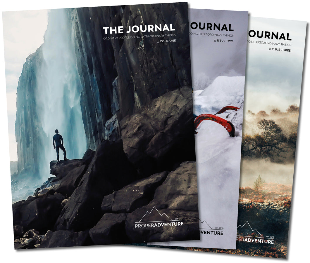 Proper Adventure Subscription - Issue One, Two and Three