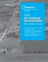 2006 AP Human Geography Released Exam